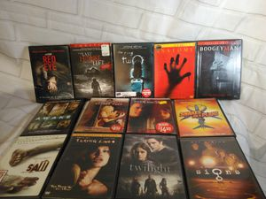 12 classic scary horror movies DVD wholesale lot for Sale in Arlington, MA