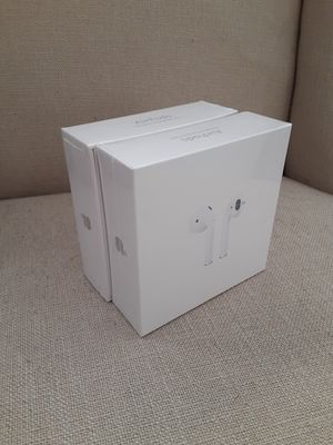 Apple airpod 2nd generation wireless charging brand new sealed box for Sale in Santa Ana, CA
