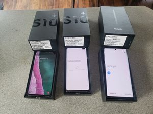 Samsung Galaxy s10 plus and note 10 plus for Sale in Waterford Township, MI