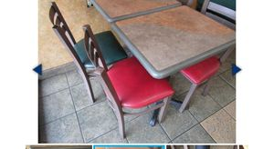 Restaurant Dinning Tables and chairs . table 10$. Chair $5. for Sale in Granite Bay, CA