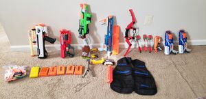 Nerf guns! Ammo! Attire & MORE! for Sale in Rockville, MD