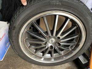 """17"""" rims and tires set for Sale in Tacoma, WA"""