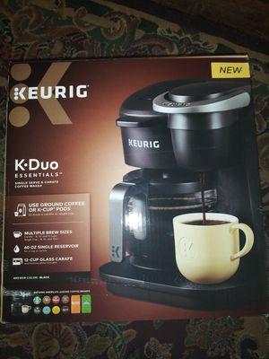 Keurig K-Duo Coffee maker single serve & carafe for Sale in San Bernardino, CA