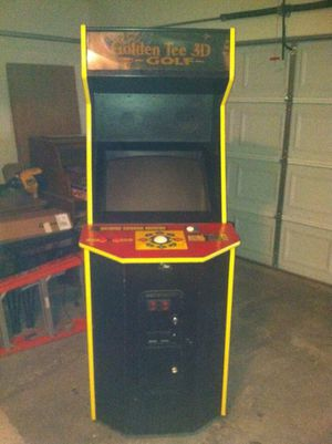 Golden Tee 3D Golf arcade game for Sale in Vidalia, GA