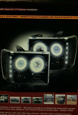 Recon Smoked Projector Headlights for Sale in Houston, TX