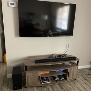 TV Stand (Holds up to 50-IN TV) - French Oak Grey for Sale in Tempe, AZ