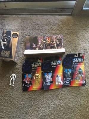 STAR WARS MOVIES AND FIGURES for Sale in Anaheim, CA