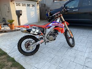 2005 Honda 450 race bike 3950$ obo or trade for 230 Yamaha Honda or Suzuki 4stroke must be new in good condition for Sale in San Francisco, CA