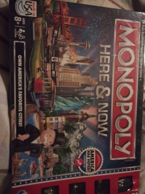 Monopoly here & now game - NEW for Sale in Columbus, OH