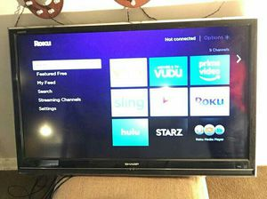 48in Sharp Flat Screen Tv for Sale in Washington, DC