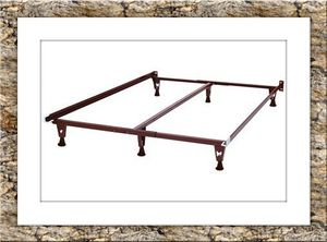 King bed frame with middle support for Sale in Hyattsville, MD