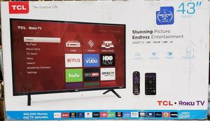 """TCL 43S303 43""""Class 3-Series FHD LED Roku Smart TV for Sale in Arlington, TX"""