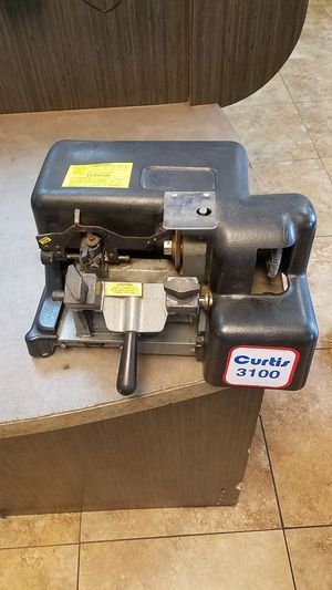 CURTIS 3100 KEY MACHINE PRICE FIRM NO TRADES for Sale in Mesa, AZ