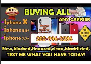 iPhone 8 Plus 7 64gb lock for Sale in Washington, DC