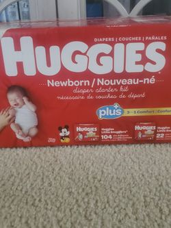 Diapers Size NEWBORN for Sale in Long Beach,  CA