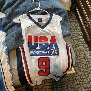 Michael Jordan Dream Team Jersey medium for Sale in Prospect Heights, IL
