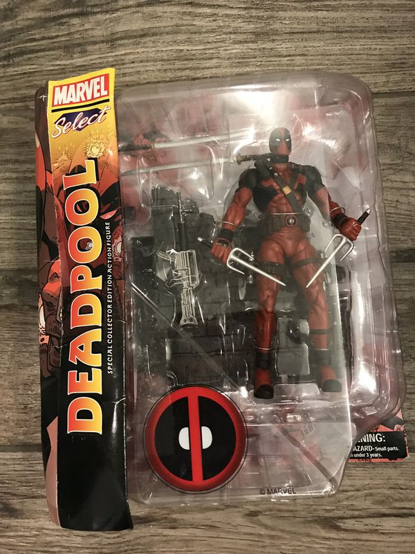 DEADPOOL Marvel Action Figure Collectible New