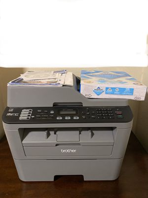 Brand new Brothers printer fax and scanner with paper for Sale in Vancouver, WA
