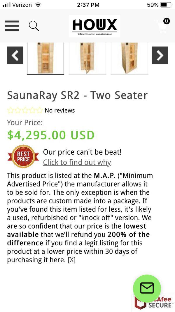 SaunaRay. Sr2