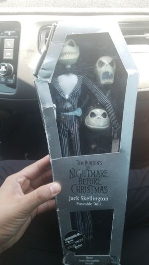 The nightmare before christmas jack skellington for Sale in Goodyear, AZ