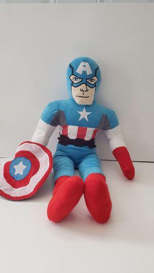Captain America Plush Large for Sale in Riverdale, GA