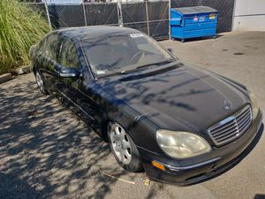 2001 Mercedes S Class S500 S430 Parts for Sale in Sacramento, CA
