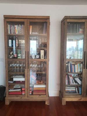 ABC Home Glass Cabinets x3 cash and pickup only UES for Sale for sale  New York, NY