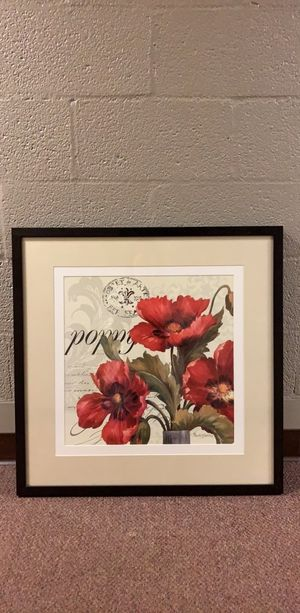 Flower Picture in Frame for Sale in Knoxville, TN