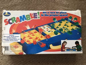 Scramble Timed Puzzle Single or 2 player Game Shapes by Maplegrove 2004 for Sale in Whittier, CA