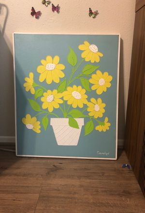 1960s or 1970s painting Sweet Carolyn for Sale in Spring, TX