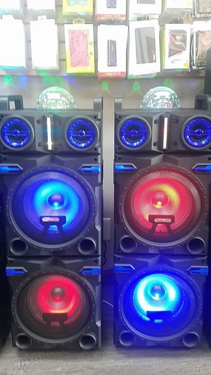 Max POWER Dual Woofer Portable Bluetooth Speakers for Sale in Carrollton, TX