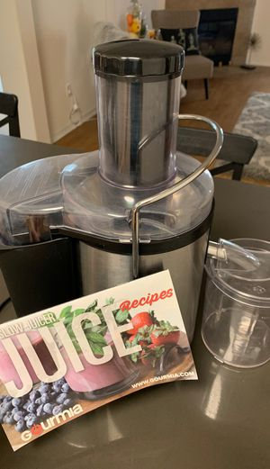 Gourmia GJ1250 Wide Mouth Centrifugal Juicer for Sale in Marina del Rey, CA