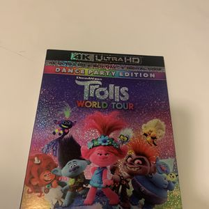 Trolls World Tour (4K UHD/Blu-ray) No Digital - Never Played! $12 for Sale in Surprise, AZ