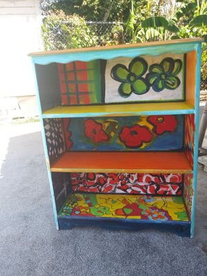 Bookshelf 37 in by 30 in by 10 and 1/2 in for Sale in Fresno, CA