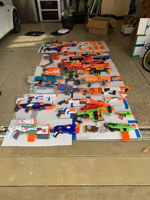 Nerf guns $1000+ worth 35+guns Dm for offers. for Sale in Livermore, CA