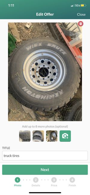 truck tires for Sale in Fontana, CA