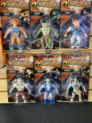 Thunder cats lot of 6 brand new never opened. Won't separate they all come together. Toys 80's for Sale in Downers Grove, IL