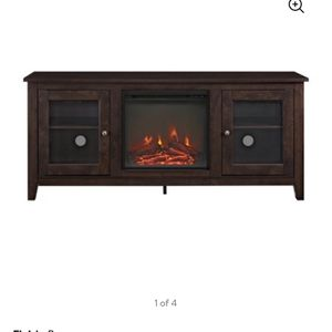 Tv Stand Fireplace (new) for Sale in Tulare, CA