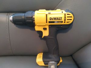 Dewalt drill 20v no battery no cahrger for Sale in Dallas, TX