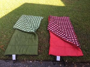 Sleeping bags with matching cases for Sale in Orlando, FL