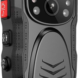 Latest Gen)PatrolMaster 1296P UHD Body Camera with Audio (build-in 64GB), 2 Inch Display, Night Vision, Waterproof, Shockproof, Body Worn Camera with for Sale in Ontario, CA