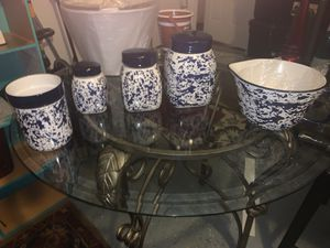 """""""Country Living """" Kitchen Ceramic Canisters for Sale in Chesapeake, VA"""