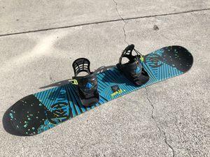 K2 mini turbo 120 snowboard k2 bindings for Sale in Milpitas, CA