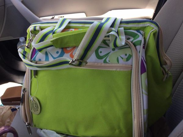 GUC (not used but shelf wear ) Complete Picnic Bag w/Accessories- bought here a while back & never used -$10 Walgreens Oakland Canada Rd Wolfchase K