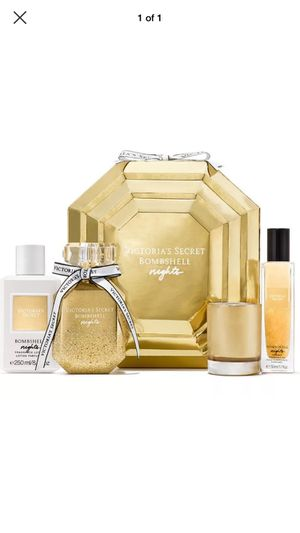 Victoria Secret Bombshell Nights Luxury Fragrance Gift Set for Sale in Chicago, IL