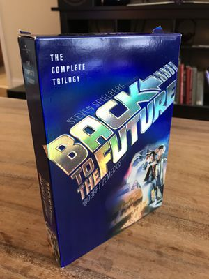 Back to the future trilogy dvd set for Sale in Charlotte, NC