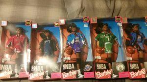 Nba barbie dolls for Sale in Manassas, VA