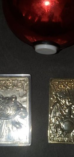 23k Gold Plated Pokemon Cards for Sale in Portland,  OR