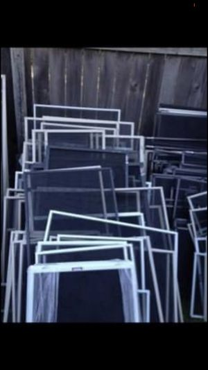 Window screens for homes Shed trailer RV garage Playhouse etc. for Sale in Cedar Park, TX