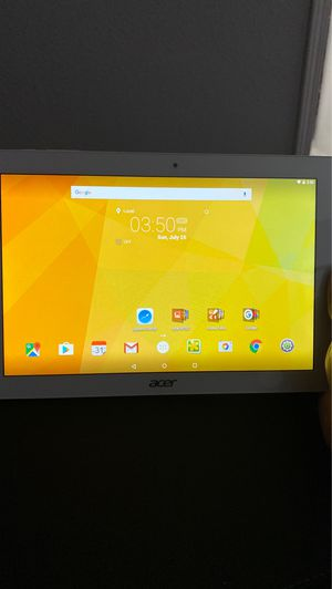 Tablet Acer iconia one 10 for Sale in Montebello, CA
